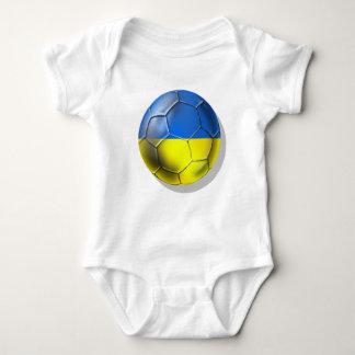 Balón de fútbol de los Amarillo-Azules de Ucrania Playeras