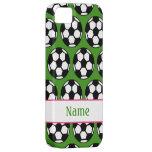 Balón de fútbol de los chicas iPhone 5 Case-Mate carcasa