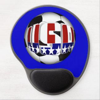 Balón de fútbol de los E.E.U.U. Alfombrilla Gel
