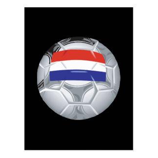 Balón de fútbol de Luxemburgo Tarjeta Postal