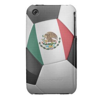 Balón de fútbol de México iPhone 3 Case-Mate Cárcasa