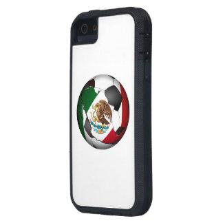 Balón de fútbol de México iPhone 5 Case-Mate Protectores