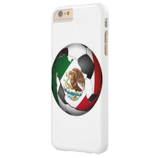 Balón de fútbol de México Funda De iPhone 6 Plus Barely There