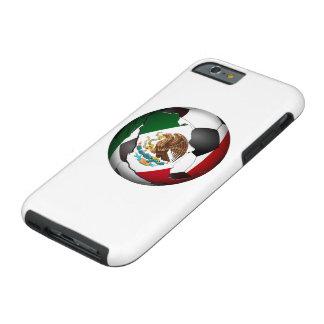 Balón de fútbol de México Funda De iPhone 6 Tough