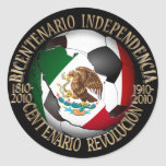 Balón de fútbol de México Pegatina