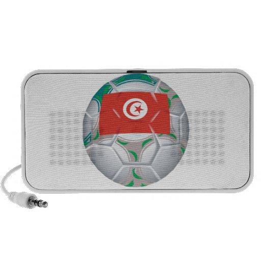 Balón de fútbol de Tunisan Mini Altavoces