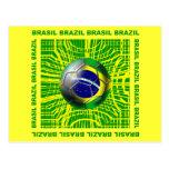 Balón de fútbol del Brasil el Brasil en los regalo