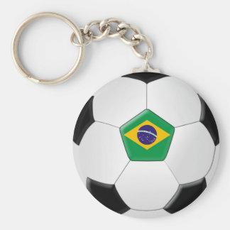 Balón de fútbol del Brasil Llavero Personalizado