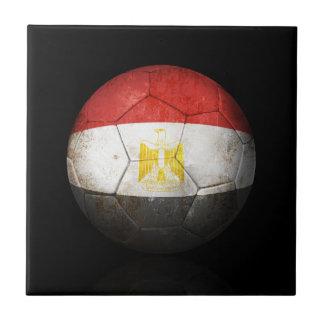 Balón de fútbol egipcio gastado de fútbol de bande tejas  cerámicas