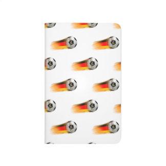Balón de fútbol el flamear Alemania Cuadernos Grapados