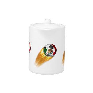 Balón de fútbol el flamear México