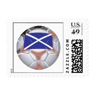 Balón de fútbol escocés sellos