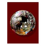 ¡Balón de fútbol español - la cultura y el fútbol  Tarjetas Postales