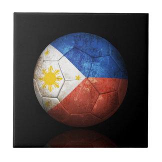 Balón de fútbol filipino gastado de fútbol de band tejas  cerámicas