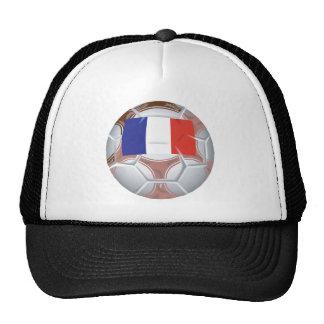 Balón de fútbol francés gorro de camionero