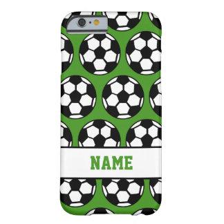 Balón de fútbol funda de iPhone 6 barely there