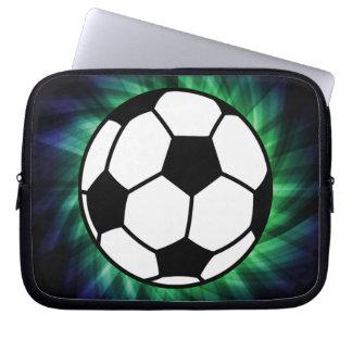 Balón de fútbol fundas portátiles