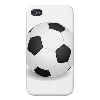 Balón de fútbol iPhone 4 cárcasa
