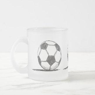 Balón de fútbol, fútbol, Fussball, deporte de Taza De Cristal