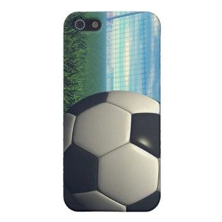 Balón de fútbol fútbol iPhone 5 cárcasa