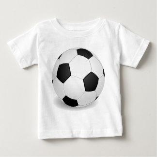 Balón de fútbol (fútbol) playera de bebé