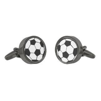Balón de fútbol gemelos metalizados