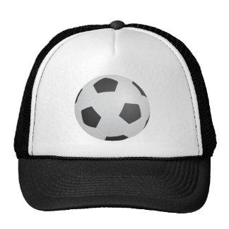 Balón de fútbol gorros bordados