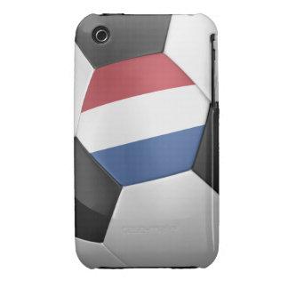Balón de fútbol holandés iPhone 3 Case-Mate cárcasa