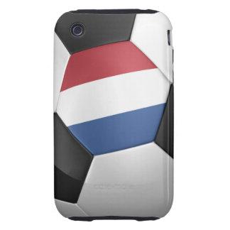 Balón de fútbol holandés iPhone 3 tough cárcasas