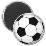 Balón de fútbol imán de frigorífico