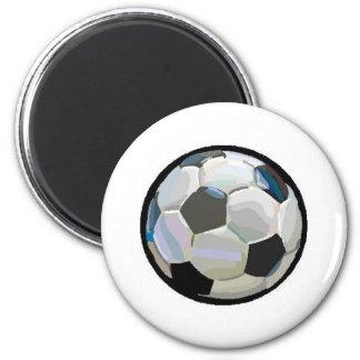balón de fútbol imán redondo 5 cm