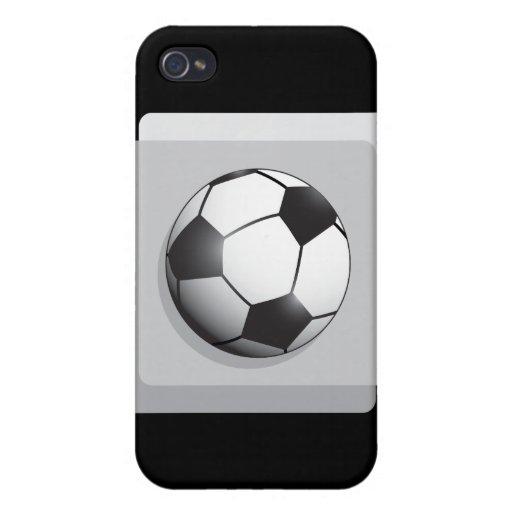 Balón de fútbol iPhone 4 coberturas