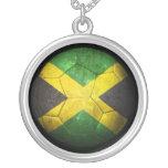 Balón de fútbol jamaicano gastado de fútbol de ban grimpola personalizada