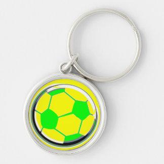 Balón de fútbol llavero personalizado