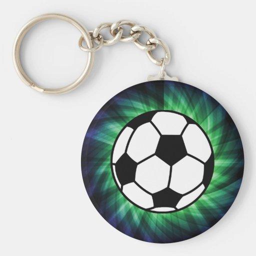 Balón de fútbol llavero