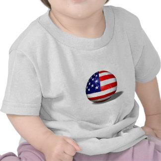 balón de fútbol los E.E.U.U. Camisetas