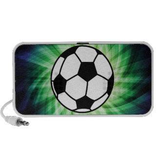 Balón de fútbol mini altavoces