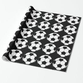 Balón de fútbol papel de regalo