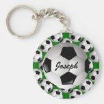 Balón de fútbol personalizado llavero