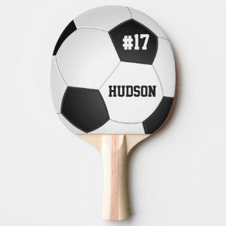 Balón de fútbol personalizado pala de ping pong