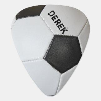 Balón de fútbol personalizado uñeta de guitarra