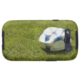 Balón de fútbol plano en la hierba, Alemania Galaxy SIII Funda