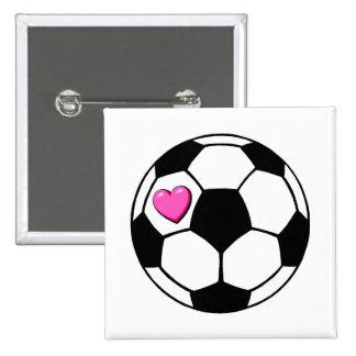 Balón de fútbol (Pnk Hrt) Pins