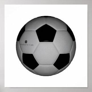 Balón de fútbol por SRF Poster