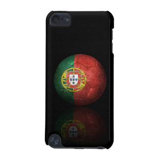 Balón de fútbol portugués gastado de fútbol de ban funda para iPod touch 5G