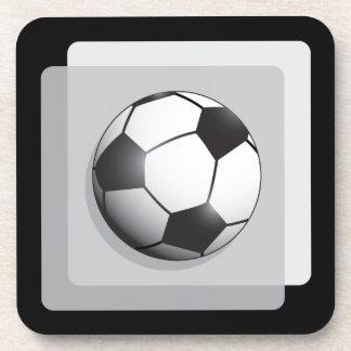 Balón de fútbol posavasos