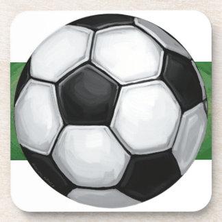 Balón de fútbol posavasos de bebidas