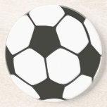 Balón de fútbol posavasos manualidades