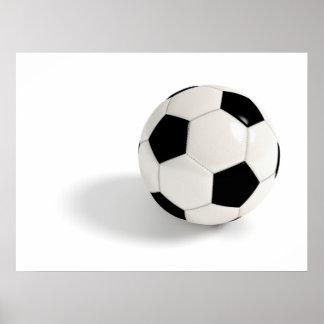 Balón de fútbol póster