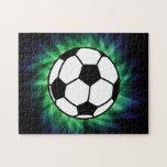 Balón de fútbol puzzle